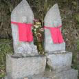 十三峠越え道-5 (登山道の仏達)