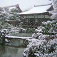 雪の慈照寺 3(東求堂)