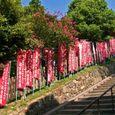 興福寺 南円堂、不空羂索観音菩薩への幡