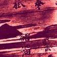 山口神社絵馬-4 (右肩部分の拡大)