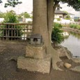 庭瀬陣屋内の祠-1