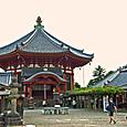 夕暮れの興福寺南円堂