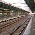 人気のない駅で (2007年大晦日)